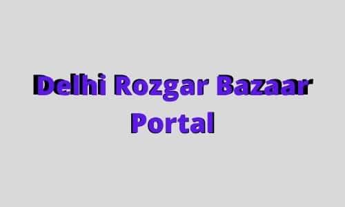 Delhi Rozgar Bazaar Portal