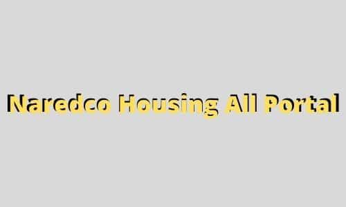 Naredco Housing All Portal