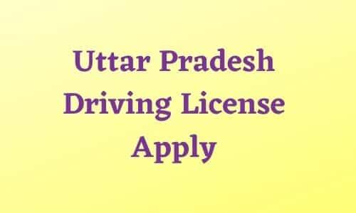 Uttar Pradesh Driving License